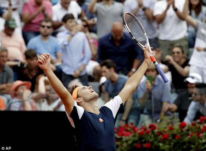 Thua sốc ở Rome Masters, Nadal lỡ hẹn vượt Djokovic - ảnh 2