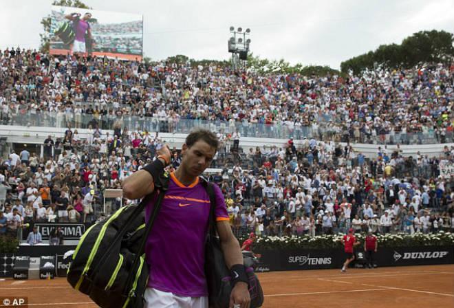 Thua sốc ở Rome Masters, Nadal lỡ hẹn vượt Djokovic - ảnh 1