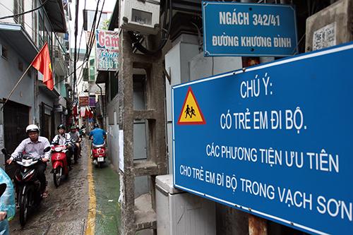 Ngỡ ngàng với làn đường độc nhất Việt Nam - 1