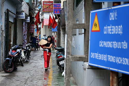 Ngỡ ngàng với làn đường độc nhất Việt Nam - 7