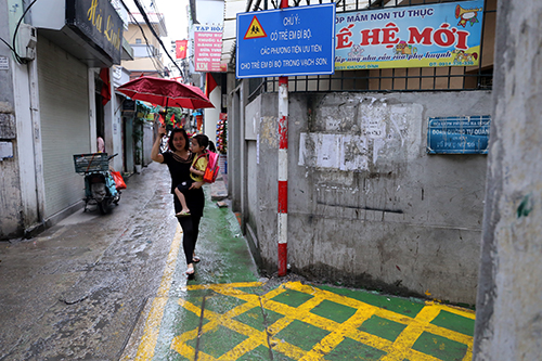 Ngỡ ngàng với làn đường độc nhất Việt Nam - 9