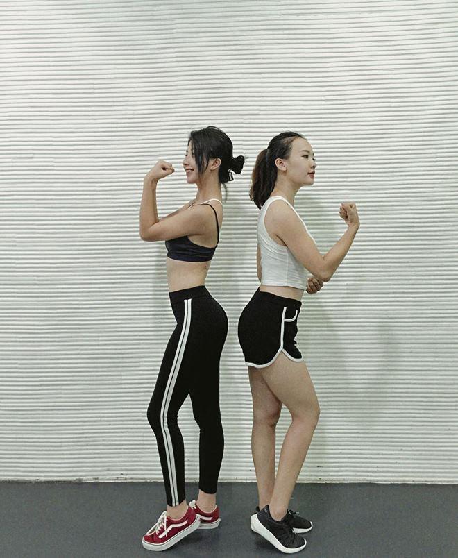 """Quỳnh Anh Shyn khoe vòng eo """"con kiến"""" khi đi tập gym - 4"""