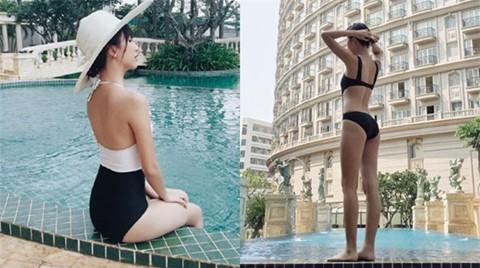 """Quỳnh Anh Shyn khoe vòng eo """"con kiến"""" khi đi tập gym - 12"""