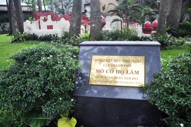 Giải mã ngôi mộ cổ ai đi vào cũng phải cúi mình ở Sài Gòn - 13