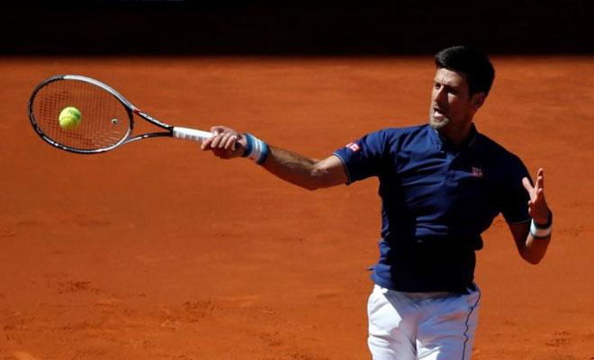 """Djokovic – Del Potro: Đánh vào """"tử huyệt"""" (Tứ kết Rome Masters) - 1"""