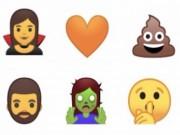 Tại sao Google từ bỏ emoji cũ sang emoji mới trong Android O?
