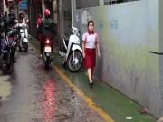 Tin tức trong ngày - Ngỡ ngàng với làn đường độc nhất Việt Nam