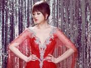 """Hari Won diện váy đỏ xẻ cao ngút ngàn, táo bạo hơn  """" gái 18 """""""