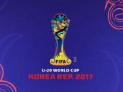 Bóng đá - Bảng xếp hạng bóng đá U20 World Cup 2017