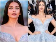 Thời trang - Hoa hậu đẹp nhất thế giới diện váy xẻ sâu hun hút ở Cannes