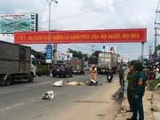 Tin tức trong ngày - Người đàn ông tử nạn dưới băng rôn an toàn giao thông
