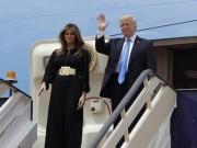 Thế giới - Giữa bão dư luận, Trump và vợ lần đầu công du nước ngoài