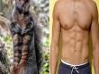 Sóc đen gây sốt vì có  bụng 6 múi  hoàn hảo
