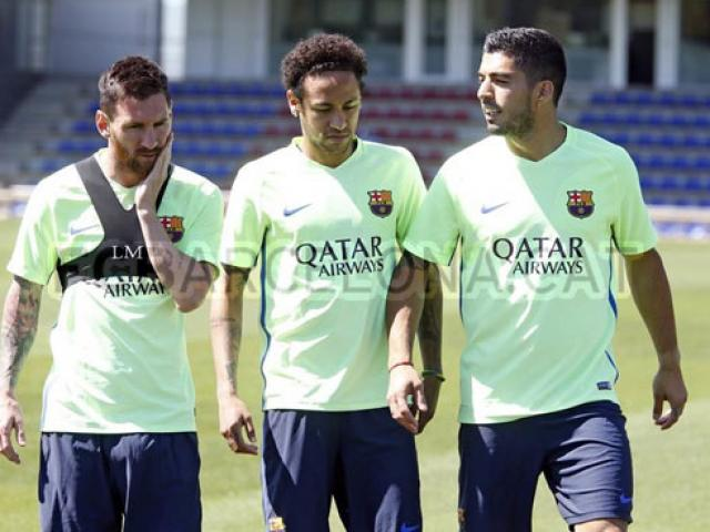 "Messi ""dở chứng"", ghen tị Ronaldo: Barca lại đau đầu - 2"
