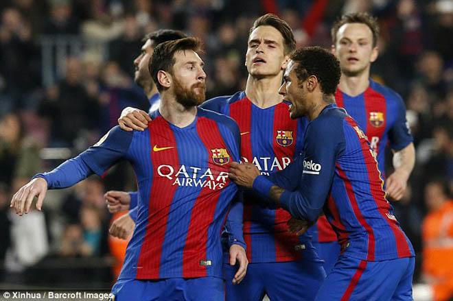 "Messi ""dở chứng"", ghen tị Ronaldo: Barca lại đau đầu - 1"