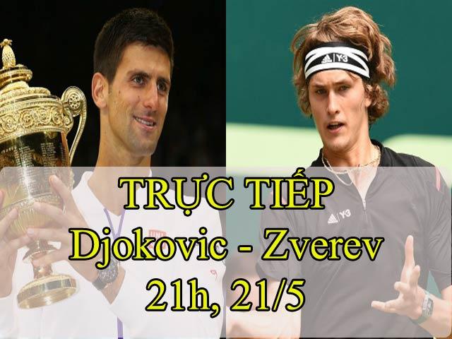 Chi tiết Djokovic – Zverev: Vỡ òa phút đăng quang (KT)
