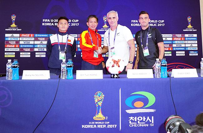 """U20 Việt Nam được HLV trưởng U20 New Zealand đưa """"lên mây"""" - 3"""