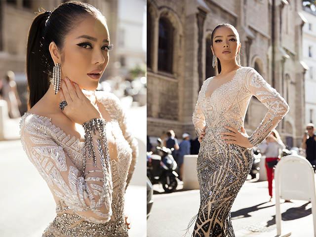 Lý Nhã Kỳ đẹp như nữ hoàng Ai Cập trên thảm đỏ Cannes