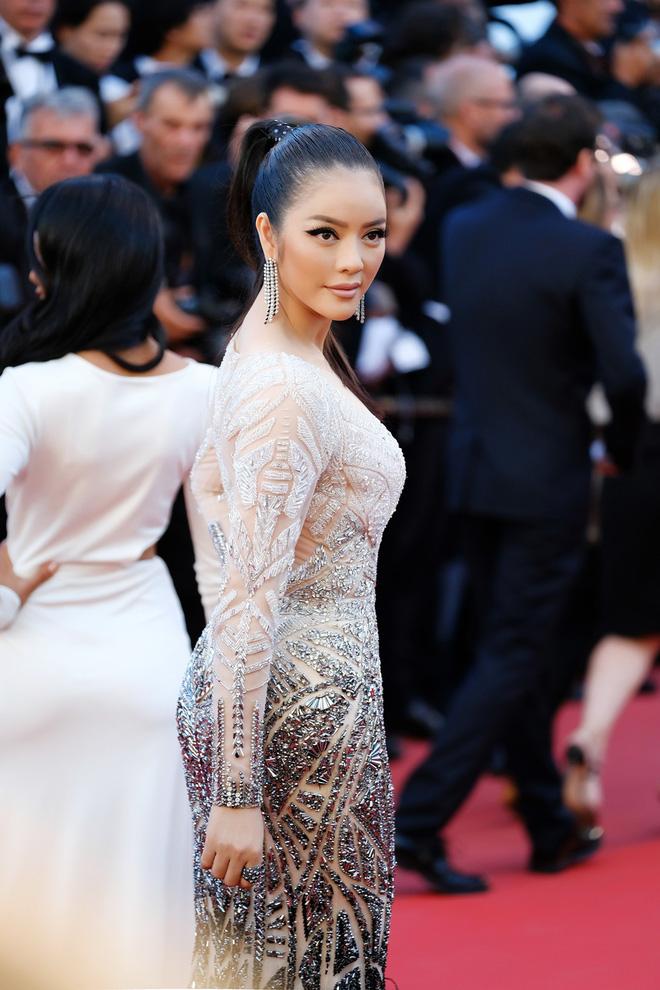 Lý Nhã Kỳ đẹp như nữ hoàng Ai Cập trên thảm đỏ Cannes - 8