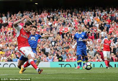 """Chi tiết Arsenal - Everton: """"Tuyệt phẩm"""" vô nghĩa (KT) - 3"""