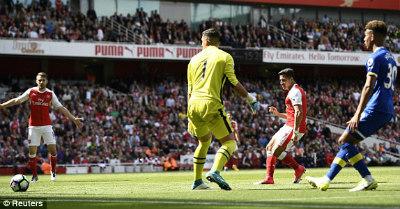 """Chi tiết Arsenal - Everton: """"Tuyệt phẩm"""" vô nghĩa (KT) - 6"""