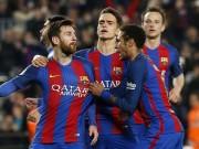 "Messi  "" dở chứng "" , ghen tị Ronaldo: Barca lại đau đầu"