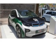Cảnh sát Dubai trang bị BMW i3