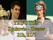 Chi tiết Djokovic - Zverev: Vỡ òa phút đăng quang (KT)