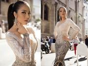 Thời trang - Lý Nhã Kỳ đẹp như nữ hoàng Ai Cập trên thảm đỏ Cannes