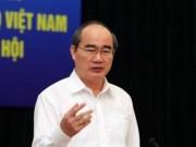 Ông Nguyễn Thiện Nhân nói gì về việc dẹp vỉa hè?