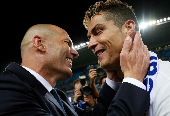 """Zidane: """"Đội bóng mạnh nhất thế giới đã vô địch"""" - 1"""