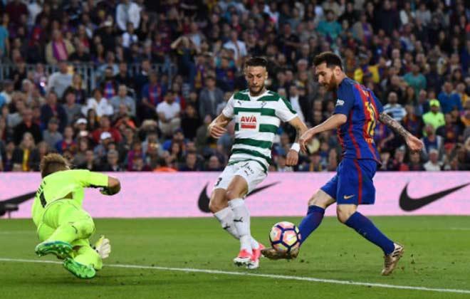 """Messi: Ngày """"chân gỗ"""" vẫn giành Pichichi, ẵm Chiếc giày vàng - 11"""