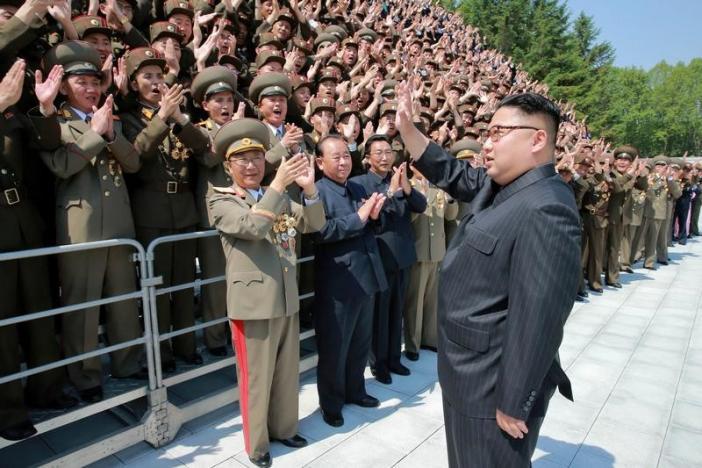 Triều Tiên nói về tên lửa đạn đạo mới thử - 1
