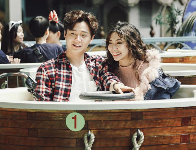 """Ngô Kiến Huy và bạn gái tái hiện cảnh """"Nấc thang lên thiên đường"""" - 5"""