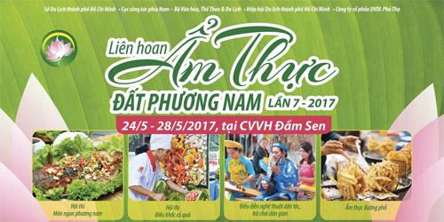 """Lễ hội """"Ẩm thực Đất Phương Nam"""" độc đáo và hấp dẫn tại Đầm Sen - 1"""
