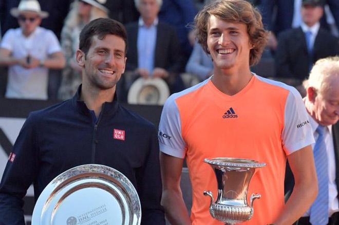 Zverev 20 tuổi ẵm Masters: Nadal hay Djokovic mới? - 1