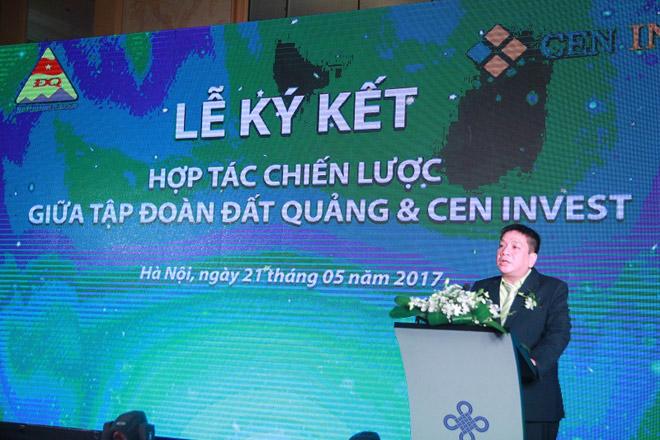 CenInvest và Tập đoàn Đất Quảng ký kết hợp tác chiến lược - 1