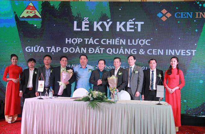 CenInvest và Tập đoàn Đất Quảng ký kết hợp tác chiến lược - 2