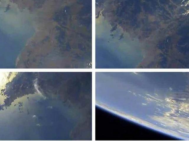 Triều Tiên tung ảnh hiếm chụp Trái đất từ tên lửa hạt nhân