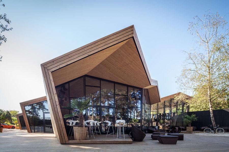 Nhà hàng gây sốt vì kiến trúc góc cạnh độc đáo - 1