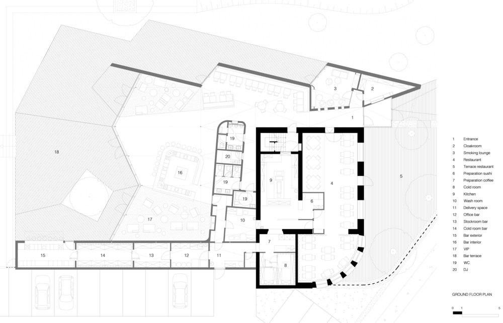 Nhà hàng gây sốt vì kiến trúc góc cạnh độc đáo - 12