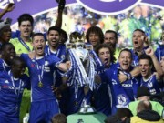 """Bóng đá - Chelsea: Conte """"tăng động"""", Terry nghẹn ngào ngày nhận cúp"""