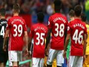 Bóng đá - MU thắng với toàn măng non: Mourinho tấm tắc xoa tay