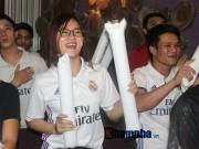 Bóng đá - Fan Real tại VN ăn mừng cùng Ronaldo: Nụ hôn và nước mắt