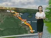 Tin tức trong ngày - Dự báo thời tiết VTV 22.5: Bắc Bộ ngày nắng nóng, chiều và đêm có mưa dông