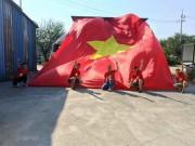 Tiếp lửa  U20 Việt Nam: Vạn anh em ở Hàn Quốc phủ đỏ sân Cheonan