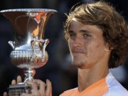 Thể thao - Thắng sốc Djokovic ở Rome, thần đồng Đức Zverev gây bão