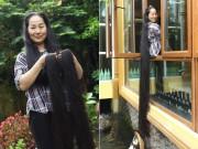 """Tin tức trong ngày - Người phụ nữ có mái tóc dài nhất VN: """"Cả gia đình tôi phải ngủ ngược giường"""""""