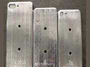 HOT: iPhone 7s, 7s Plus và iPhone 8 bất ngờ lộ diện