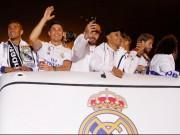 Bóng đá - Real vô địch Liga: Ronaldo, Ramos quậy tung đường phố Madrid